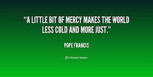 Pope F Mercy 2